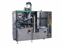 ZHNG-100A High Speed Automatic Toothpaste Tube Filling Machine With Big Storage Tube Hopper