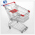 Supermarket trolley double seat folding shopping carts shopping trolley