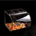 fast delivery low price clear acrylic storage candy box case,acrylic container with lid