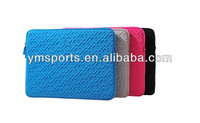 10-17INCH EMBOSSING EVA NEOPRENE LAPTOP SLEEVE BAG CASE cover with various color and size