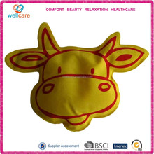 Cow velour pvc hot cold pack / hot cold pack