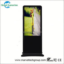 lcd bus advertising player back fixing structure