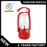 High brightness plastic rechargeable led lantern for outdoor camping