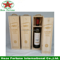 Paulownia wooden wine box sale online