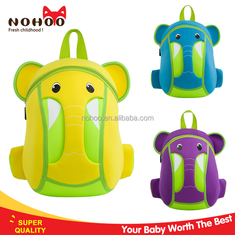 Soundable cartoon active school bags children backpack for toddlers