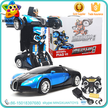 2016 new toys remote control trans robot toy stunt car for kids
