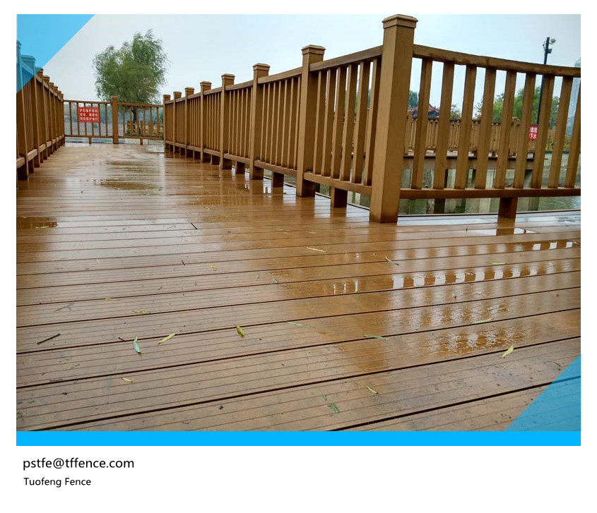 long life time railing wood wpc wood plastic composite stairs handrail