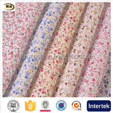 Chinese wind small broken flower spring/summer sleepwear fabrics in the middle-aged and old garment printing fabric