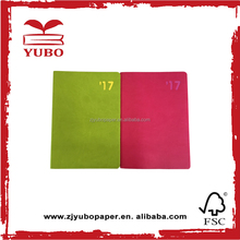 various type custom made printed pu leather book