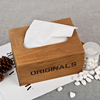 Wood Material Oiginal Tissue Box Customize