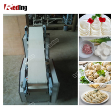 Stainless steel automatic wonton/dumpling skin machine/roti chapati wrapper making machine