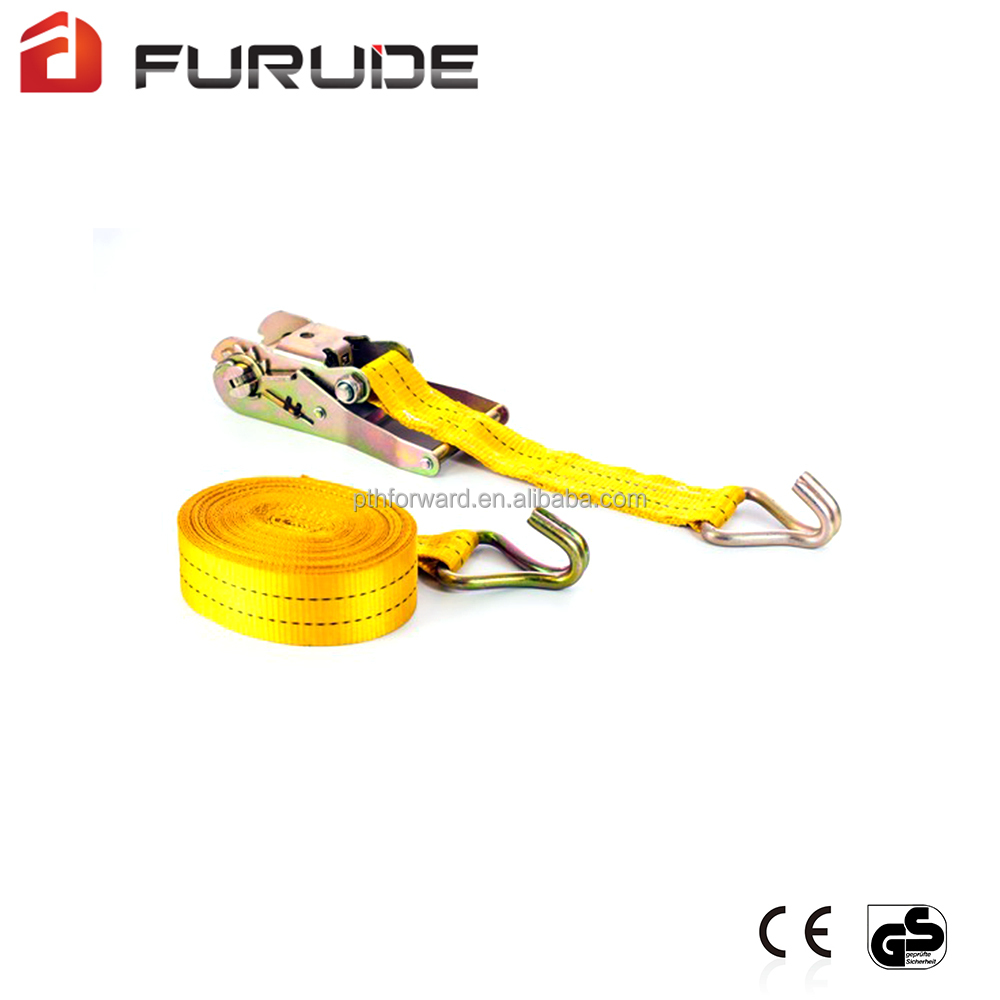 High tensile strap tie down securing straps