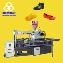 Hot Automatic Rotary Double Color PVC Shoes Direct Injection Molding Machine