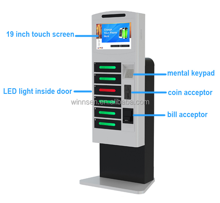 Money Making Machine Floor Stand Coin Cash Card Operated