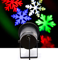 Sparkling led Laser Landscape Projector light for Christmas lighting with snow shape and butterfly shape