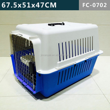 Fashion Pet Kennel of Chrome Door--Lovely Pink + Grey