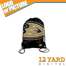 American sport style fans gift backpack bag Hockey team club printed drawstring backpack