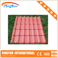 plastic resin roofing sheets/soundproof/pvc sheet for roof