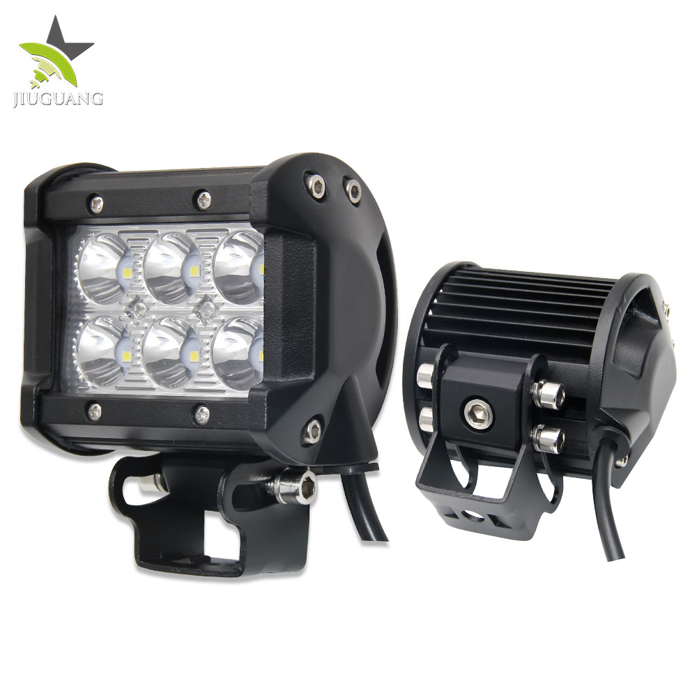 <strong>Auto</strong> Supplier 4inch 2Rows IP67 New Super Bright Offroad Led Light Bar 18w