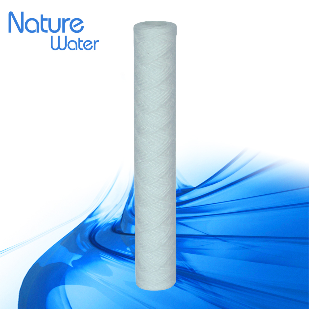 "20"" plastic cotton filter cartridge with outer diameter 60-63mm for 5micron"