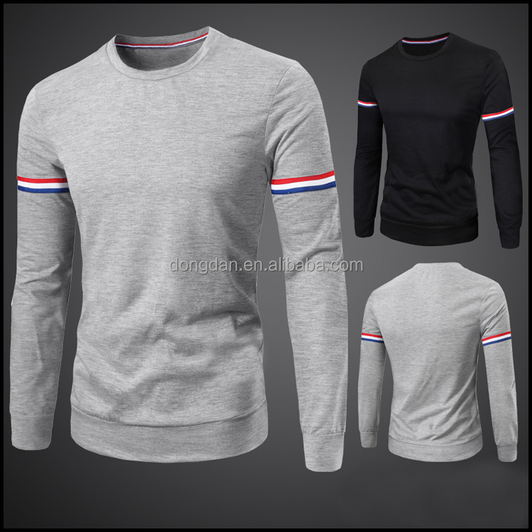 Custom cotton dry fit long sleeve t shirt with top quality for Custom dry fit shirts