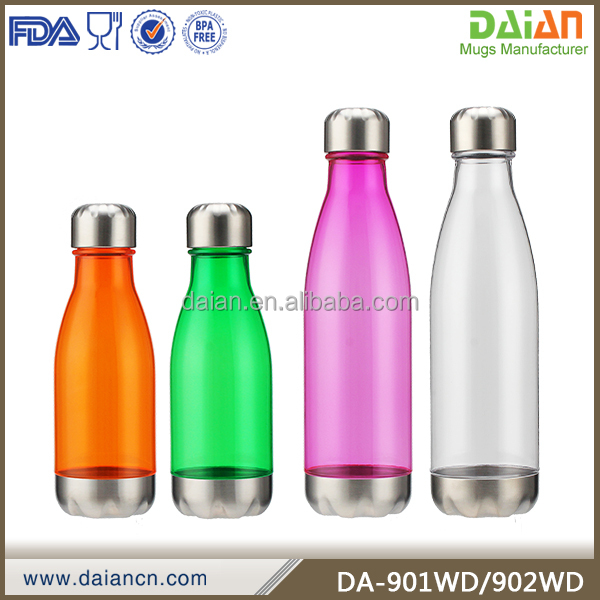 Single layer swell plastic water sport bottle customized logo