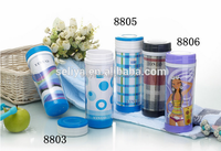 hot bottle bpa free 330ml Double wall Plastic tumbler with paper insert