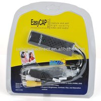 EasyCAP DC60 - USB 2.0 Audio/video Creator Capture ,USB S-Video RCA A Video Capture Card Adapter for Windows 7 64-bit