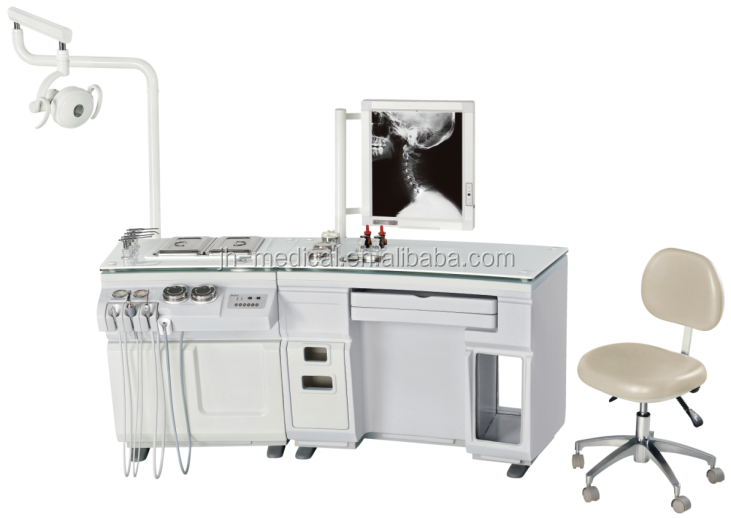 CE approved ent Treatment unit price with ent patient chair & headlight