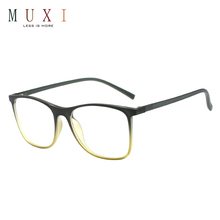 Newest popular square design custom beautiful decoration spectacle glasses, colorful nice eyeglasses optical frame