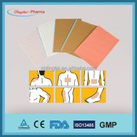 Free Sample Capsicum Plaster and warming plaster and back pain relie more than 40 years manufacture