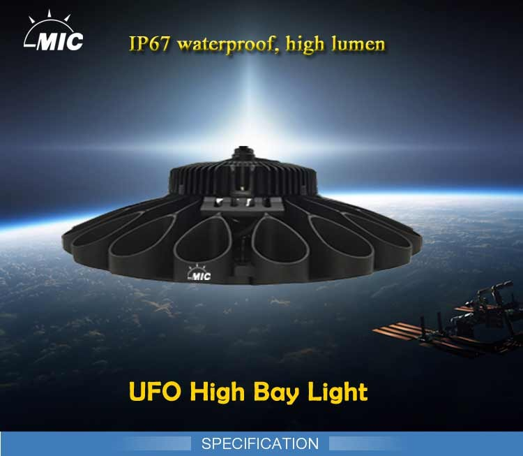 led Factory warehouse industrial 200w led ufo high bay light