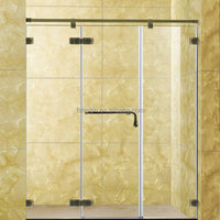 Bathroom Stainless Steel Straight Shower Screen