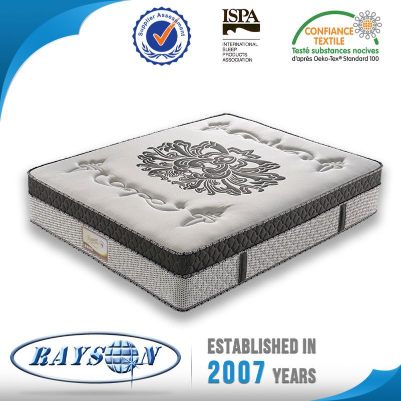 Hot Sale Low Cost Comfort Pocket Spring Quilted Mattress