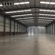 Prefab Steel Structure Storage Buildings for Commercial Use