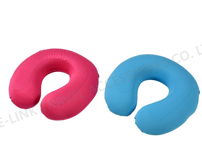 Cooling Gel Memory Foam Neck Pillow With Removable Cover