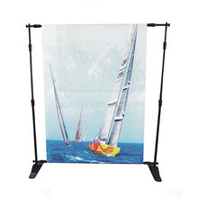 Flex and telescopic banner stand, wedding backdrop stand