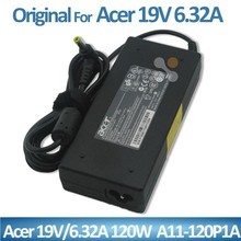 Wholes for Acer Genuine Original 19v 6.32a120W ac adapter charger A11-120P1A