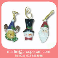 Ceramic hand painted christmas ornaments crafts