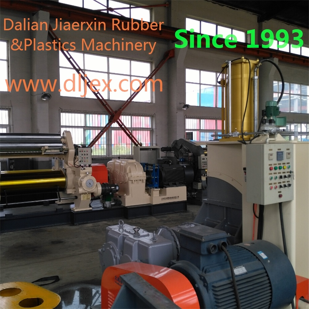 high quality rubber dispersion kneader mixer with 55L mixing capacity made by Dalian Jiaerxin Rubber &Plastics Machinery