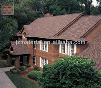 Factory Red laminated asphalt roofing shingles /colorful fiberglass asphalt shingle