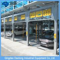 CE approved steel structure car parking lot