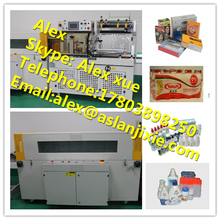 Large Capacity Packaging Machine / Heat Shrink Filling Machine for Hair Care Jelly and Alcoholic Beverages