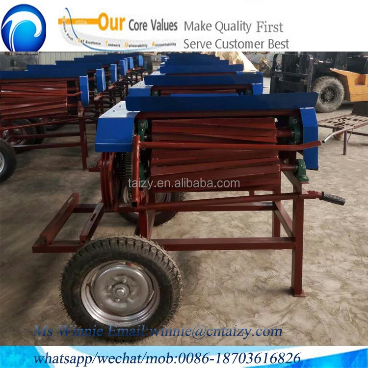 Wholesale jute hemp fiber extractor machine with low price