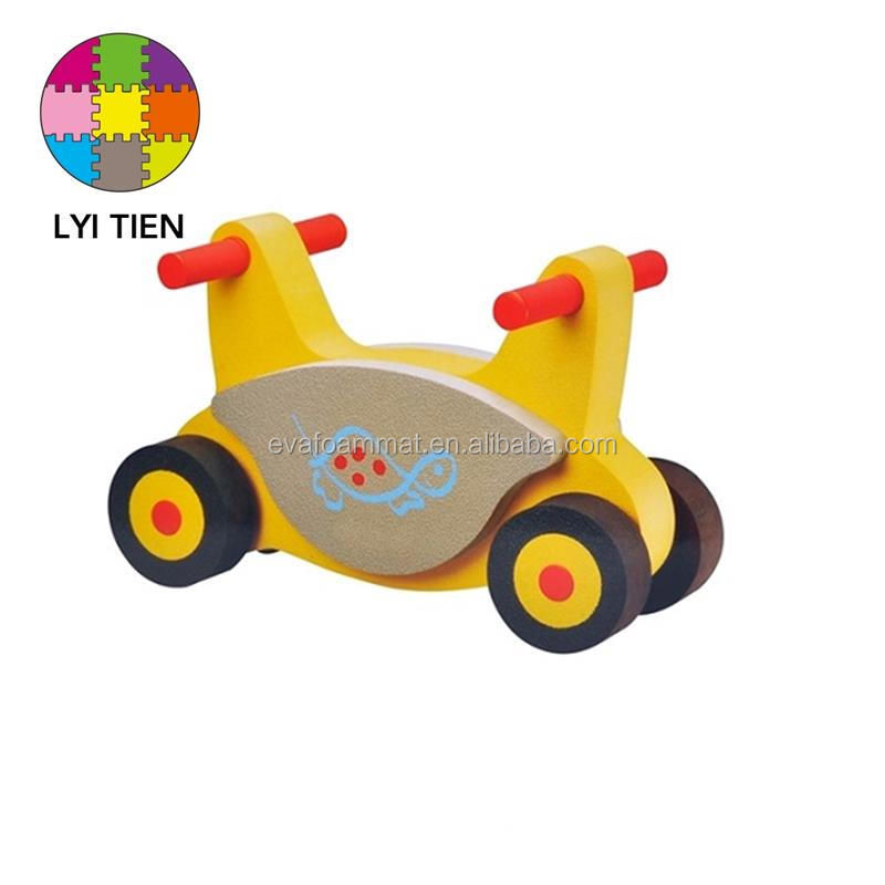 ISO 9001 factory high quality plastic eva foam toy bike