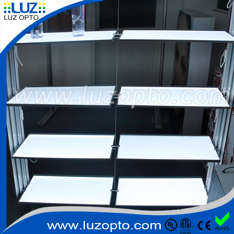Custom size Single side LED panel frame for store furniture