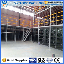 Stacking Racks And Shelves Support Heavy Duty Industrial Warehouse Mezzanine Racking