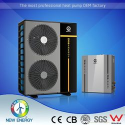Air source to water -25 degree heating hot water pump