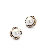 jewelry artificial pearl earrings stud