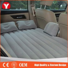 Portable inflatable car travel car mattress, inflatable car air bed
